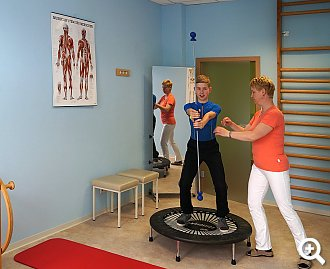 Physiotherapie Turnraum